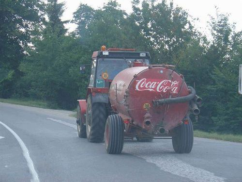Delivery coca cola