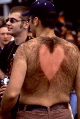 hair style heart