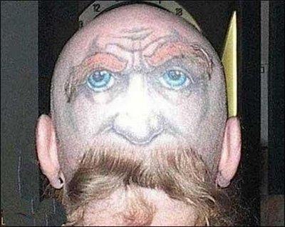 hair style moustache