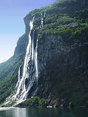 highest waterfalls Tyssestrengene Falls