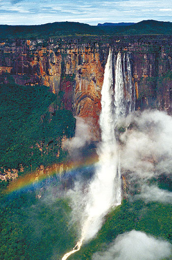 highest waterfalls angel falls